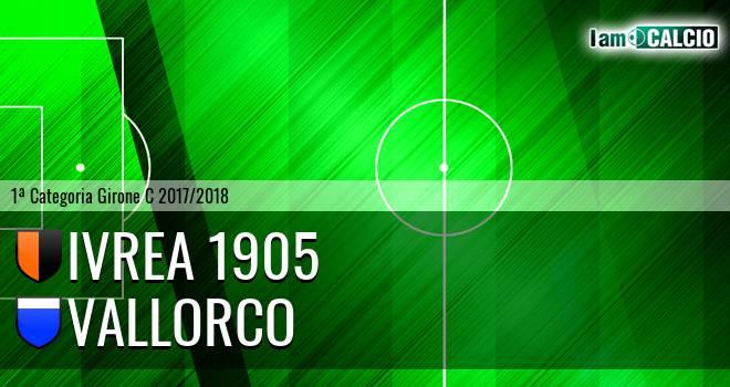 Ivrea 1905 - Vallorco