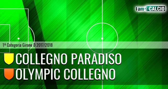 Collegno Paradiso - Olympic Collegno