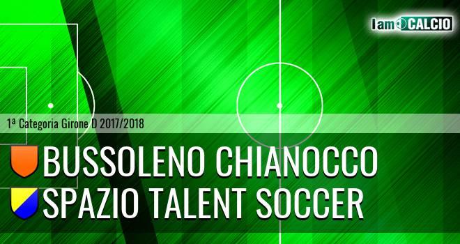 Bussoleno Chianocco - Spazio Talent Soccer