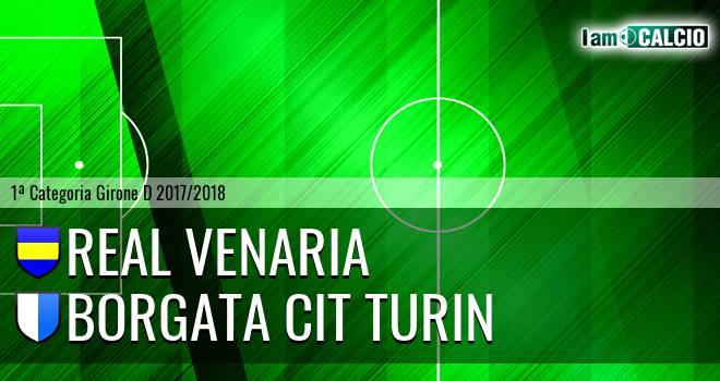 Real Venaria - Borgata Cit Turin