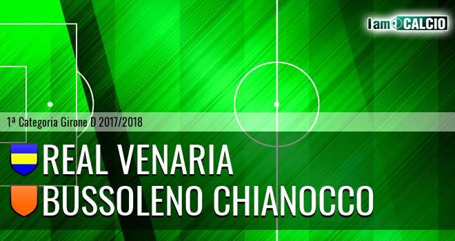 Real Venaria - Bussoleno Chianocco