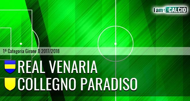 Real Venaria - Collegno Paradiso