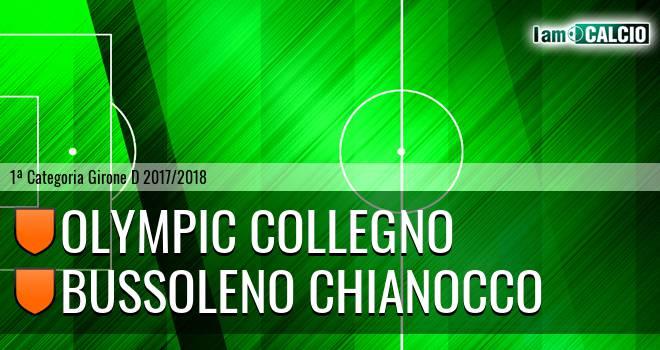 Olympic Collegno - Bussoleno Chianocco