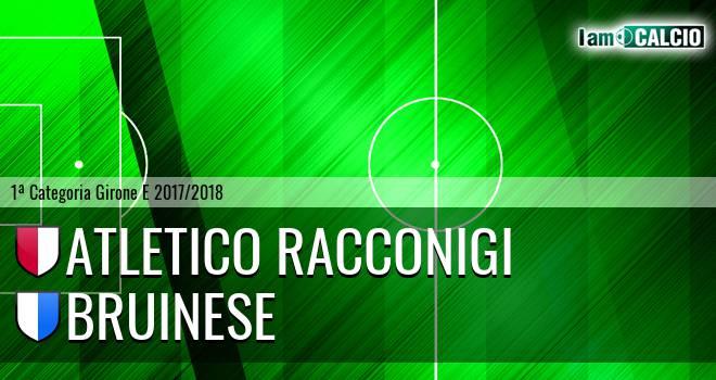 Atletico Racconigi - Bruinese