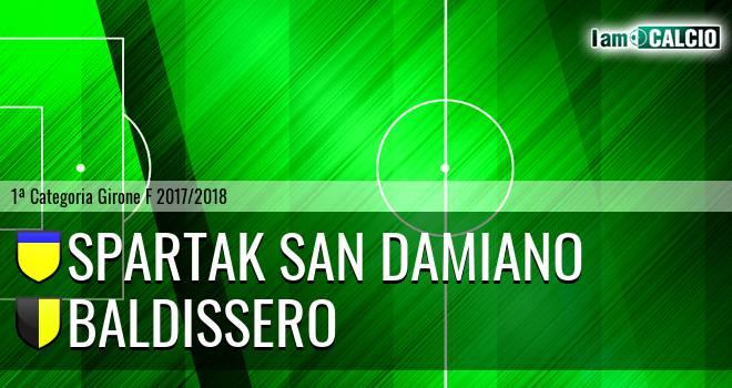Spartak San Damiano - Baldissero