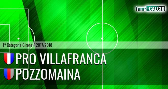 Pro Villafranca - Pozzomaina