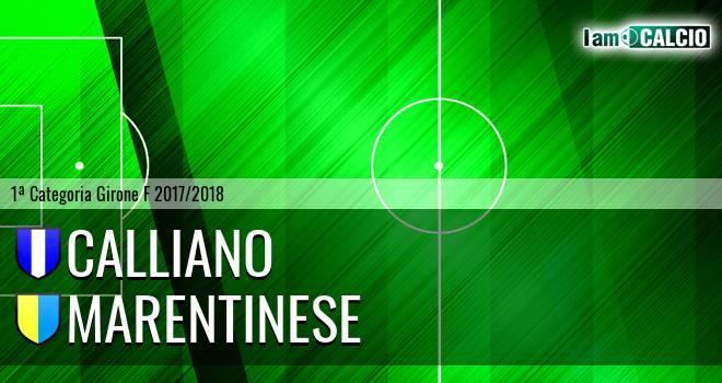 Calliano - Marentinese