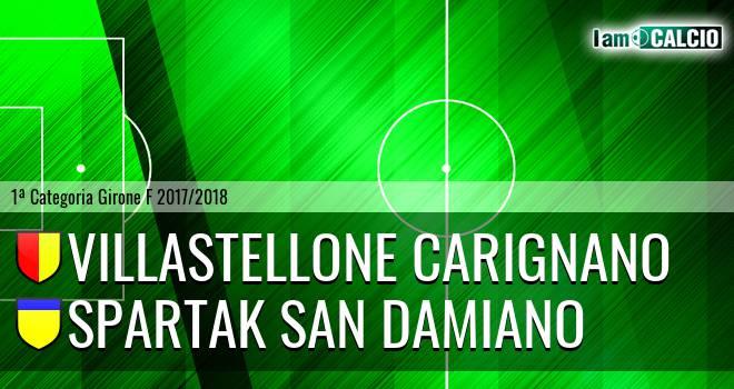 Villastellone Carignano - Spartak San Damiano