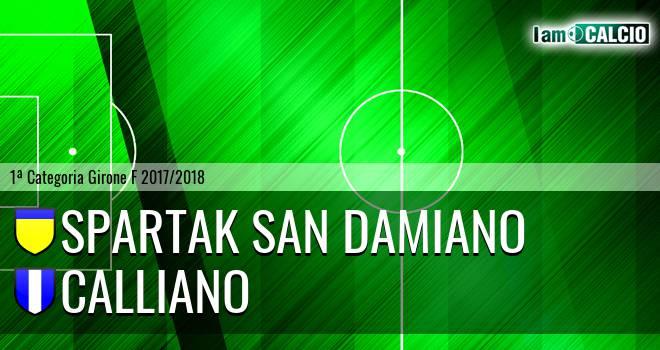 Spartak San Damiano - Calliano