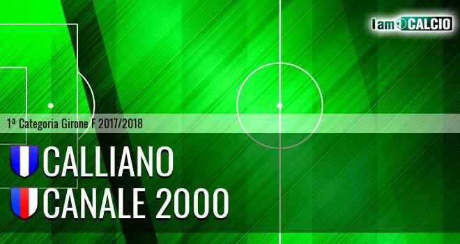Calliano - Canale 2000