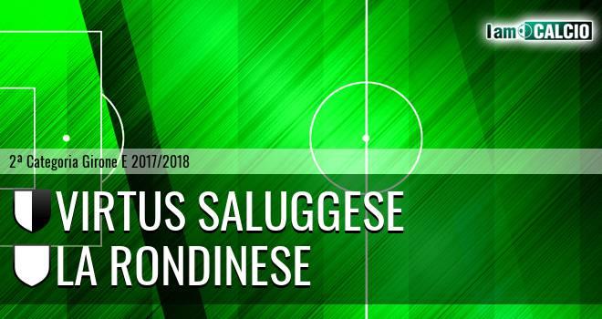 Virtus Saluggese - La Rondinese