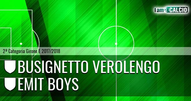 Busignetto Verolengo - Emit Boys
