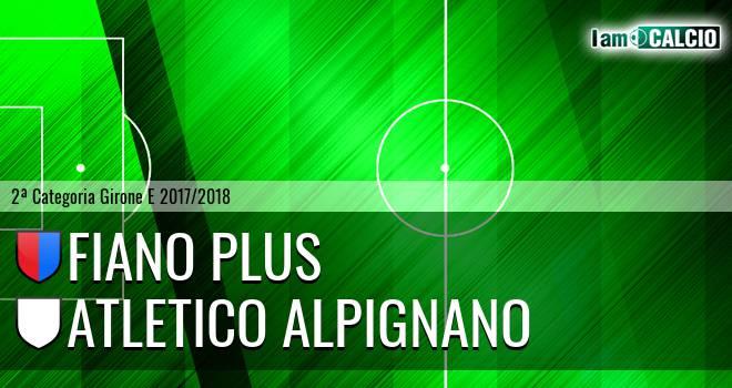 Fiano Plus - Atletico Alpignano