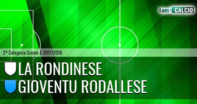 La Rondinese - Gioventu Rodallese