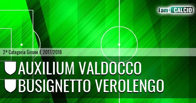 Auxilium Valdocco - Busignetto Verolengo