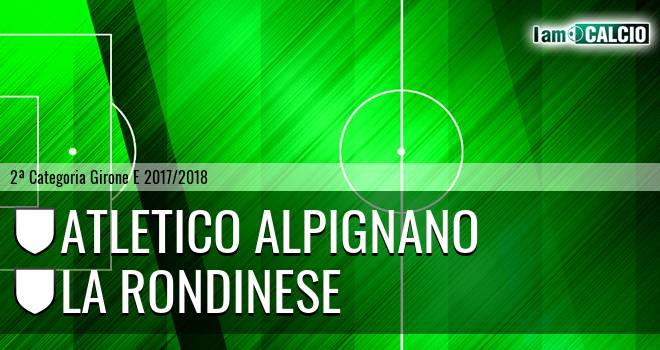 Atletico Alpignano - La Rondinese