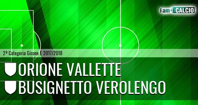 Orione Vallette - Busignetto Verolengo