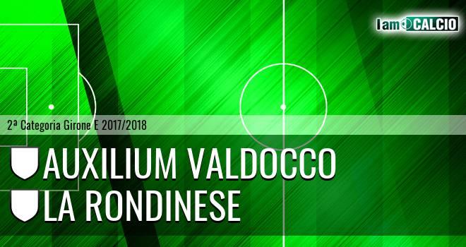 Auxilium Valdocco - La Rondinese