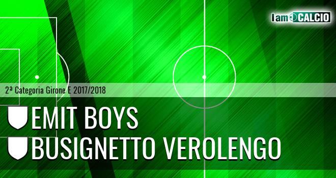 Emit Boys - Busignetto Verolengo
