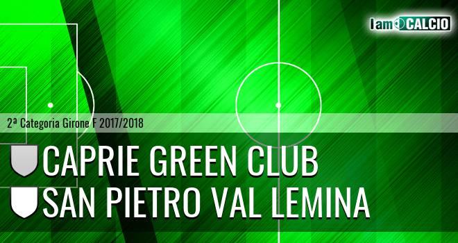 Caprie Green Club - San Pietro Val Lemina