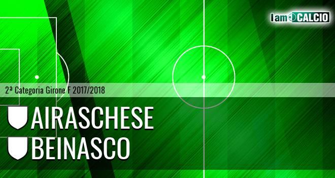 Airaschese - Beinasco 0-1. Cronaca Diretta 28/03/2018