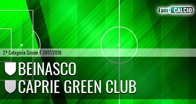 Beinasco - Caprie Green Club. Cronaca Diretta 22/04/2018