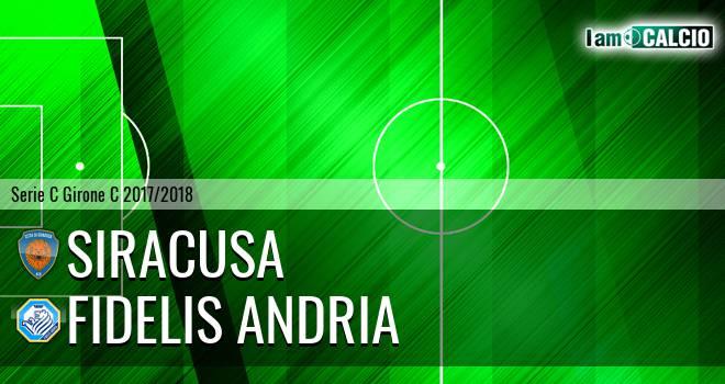 Siracusa - Fidelis Andria