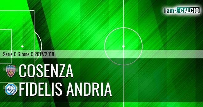 Cosenza - Fidelis Andria