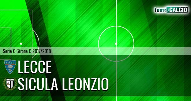 Lecce - Sicula Leonzio