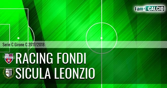 Racing Fondi - Sicula Leonzio