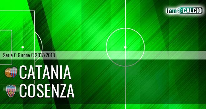 Catania - Cosenza 2-2. Cronaca Diretta 11/02/2018