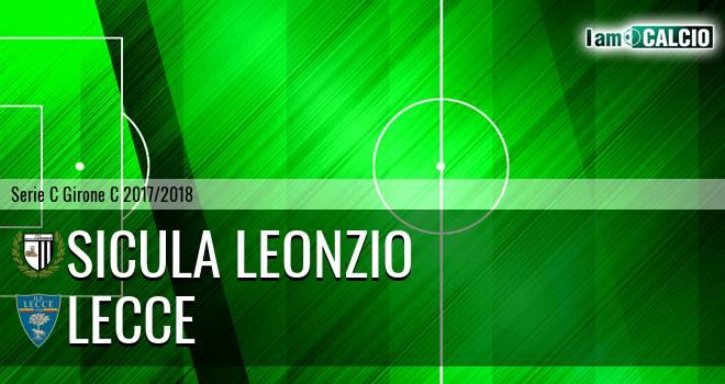 Sicula Leonzio - Lecce 0-0. Cronaca Diretta 18/02/2018