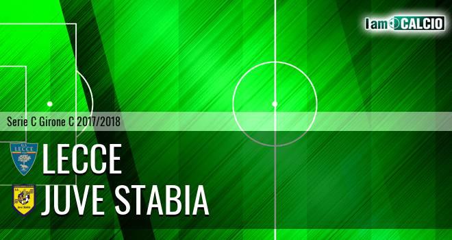 Lecce - Juve Stabia 0-0. Cronaca Diretta 25/02/2018