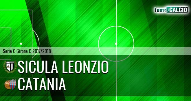 Sicula Leonzio - Catania 0-0. Cronaca Diretta 11/03/2018
