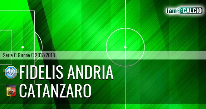 Fidelis Andria - Catanzaro 2-1. Cronaca Diretta 18/03/2018