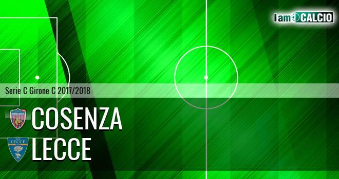 Cosenza - Lecce 0-1. Cronaca Diretta 19/03/2018