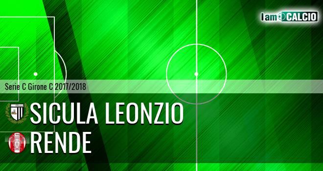 Sicula Leonzio - Rende 1-0. Cronaca Diretta 21/03/2018