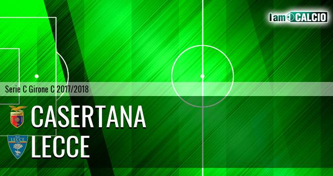 Casertana - Lecce 1-0. Cronaca Diretta 25/03/2018