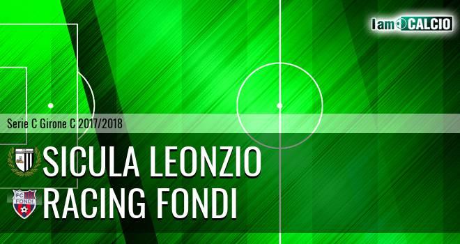 Sicula Leonzio - Racing Fondi 2-0. Cronaca Diretta 31/03/2018