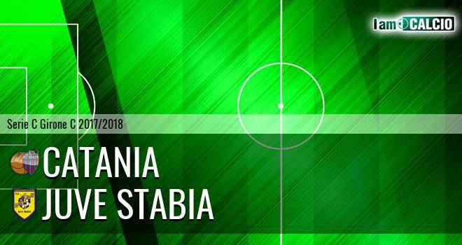 Catania - Juve Stabia 0-0. Cronaca Diretta 09/04/2018
