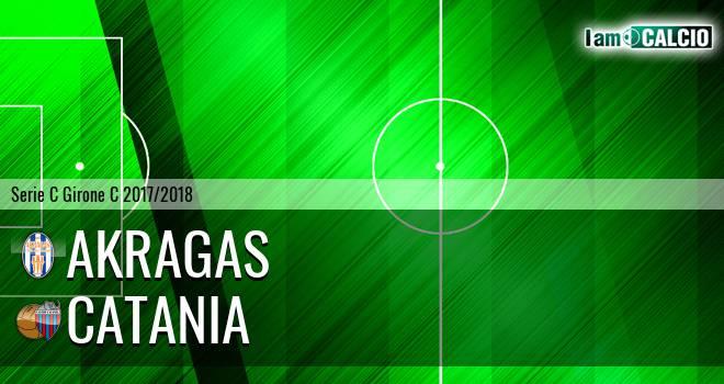 Akragas - Catania 1-3. Cronaca Diretta 15/04/2018