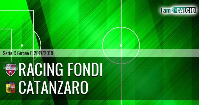 Racing Fondi - Catanzaro