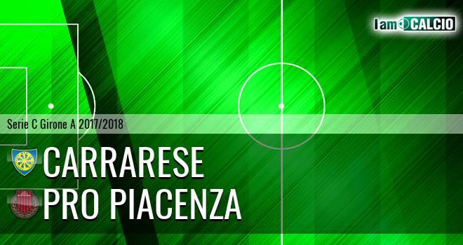 Carrarese - Pro Piacenza