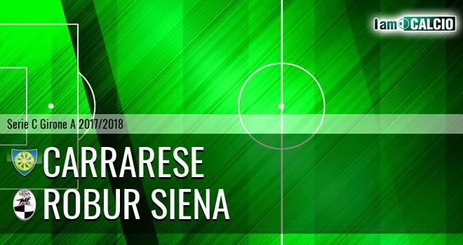 Carrarese - Robur Siena