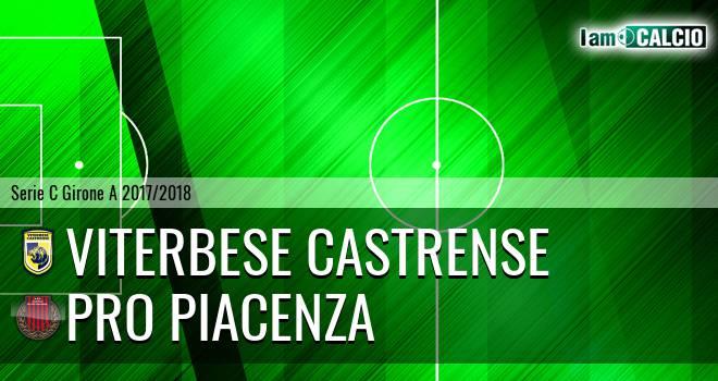 Viterbese Castrense - Pro Piacenza