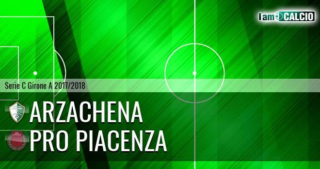 Arzachena - Pro Piacenza