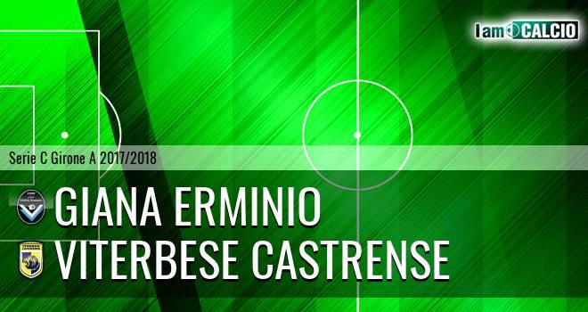 Giana Erminio - Viterbese Castrense