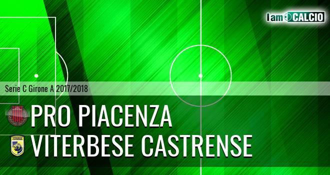 Pro Piacenza - Viterbese Castrense