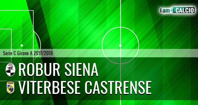 Robur Siena - Viterbese Castrense