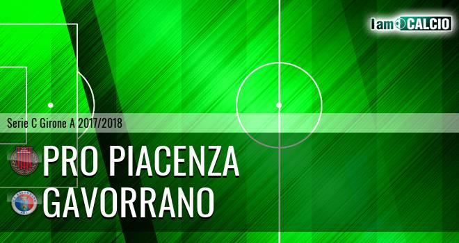 Pro Piacenza - Follonica Gavorrano
